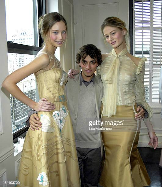 Models wearing Esteban Cortazar Fall 2006 and Esteban Cortazar