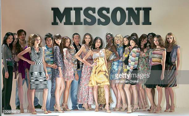 Models wearing Missoni spring/summer 2006 during Singapore Fashion Festival 2006 Missoni Runway at The Tent at Ngee Ann City Orchard Road in Ngee Ann...
