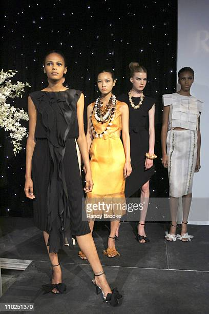 Models wearing Rodarte Spring 2005 during Stylelounge Spring/Summer 2006 New York Fashion Week Day 1 Rodarte at Style Lounge in New York City New...