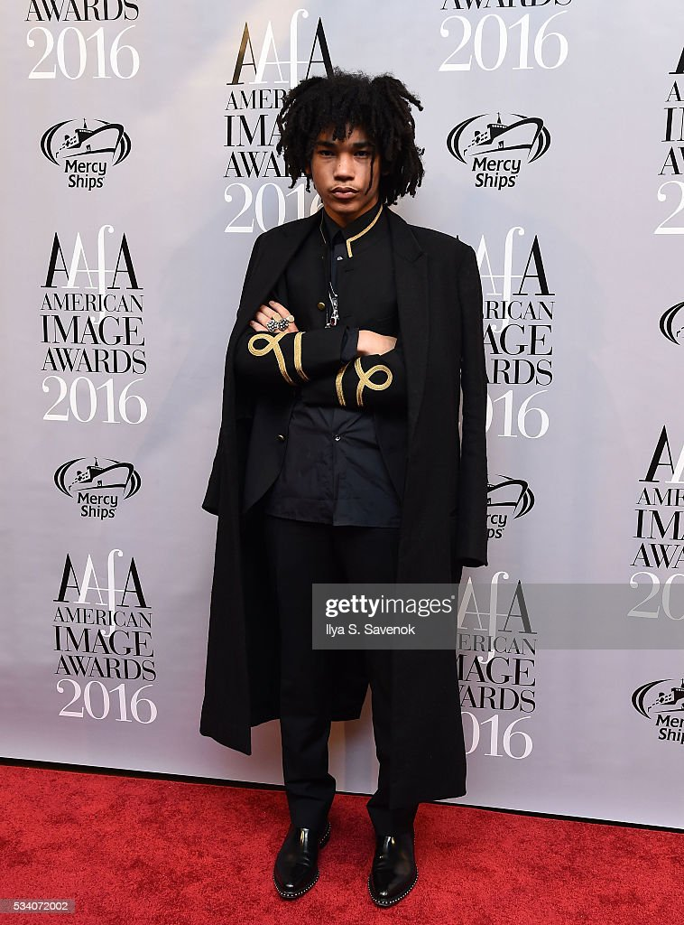 Model/Stylist Luka Sabbat attends the American Apparel & Footwear Association's 38th Annual American Image Awards 2016 on May 24, 2016 in New York City. (Photo by Ilya S. Savenok/Getty Images for American Apparel & Footwear Association (AAFA))