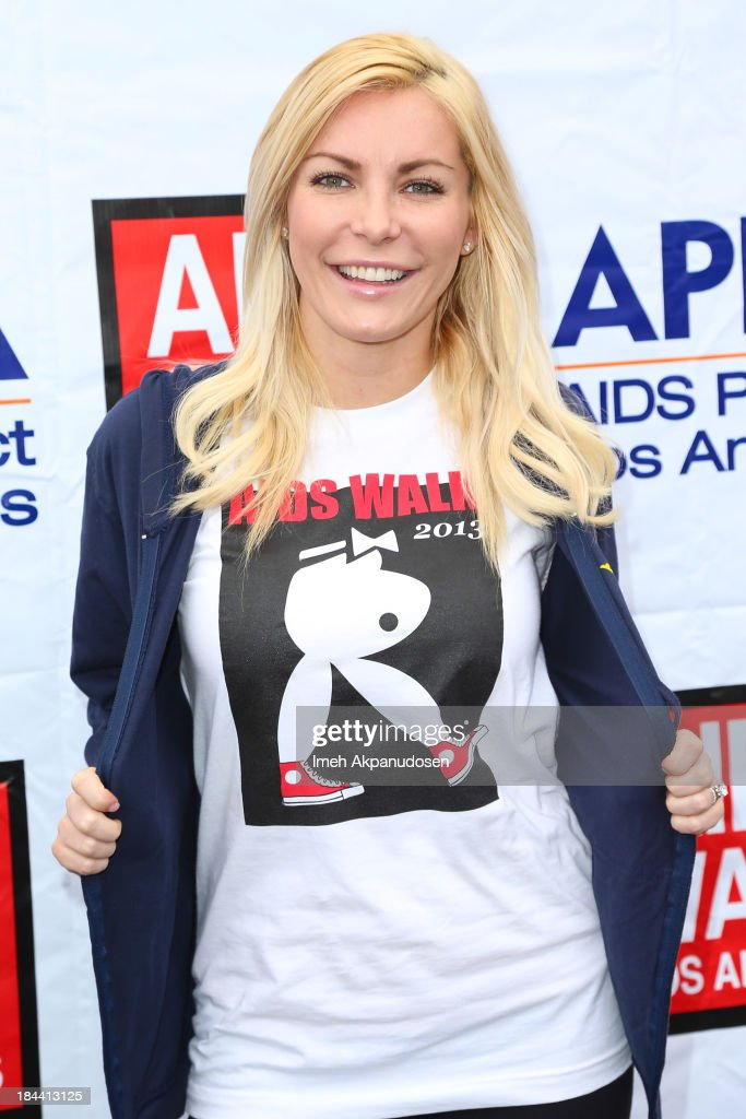 Model/television personality <a gi-track='captionPersonalityLinkClicked' href=/galleries/search?phrase=Crystal+Hefner&family=editorial&specificpeople=10245155 ng-click='$event.stopPropagation()'>Crystal Hefner</a> attends the 29th Annual AIDS Walk LA on October 13, 2013 in West Hollywood, California.