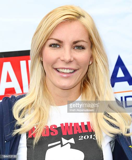 Model/television personality Crystal Hefner attends the 29th Annual AIDS Walk LA on October 13 2013 in West Hollywood California