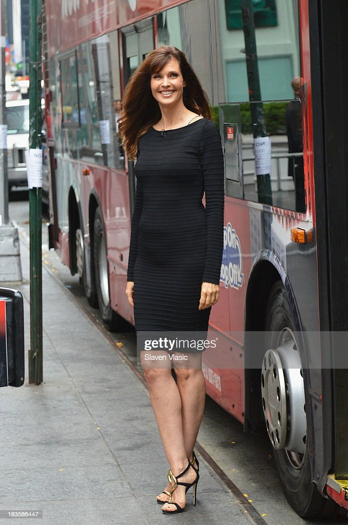 Model/TV personality Carol Alt attends Gray Line New York 'Ride Of Fame' Induction Ceremony For Supermodel Carol Alt on October 7, 2013 in New York City.