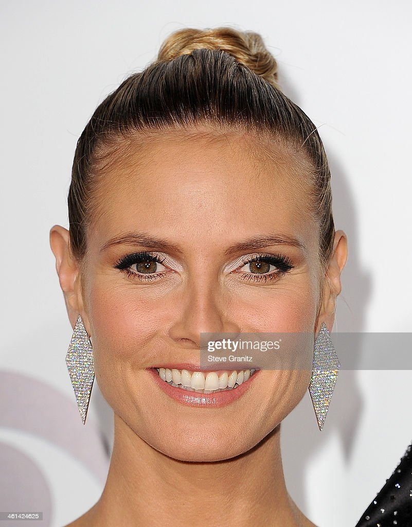 Model/TV personality <a gi-track='captionPersonalityLinkClicked' href=/galleries/search?phrase=Heidi+Klum&family=editorial&specificpeople=178954 ng-click='$event.stopPropagation()'>Heidi Klum</a> attends The 40th Annual People's Choice Awards at Nokia Theatre LA Live on January 8, 2014 in Los Angeles, California.