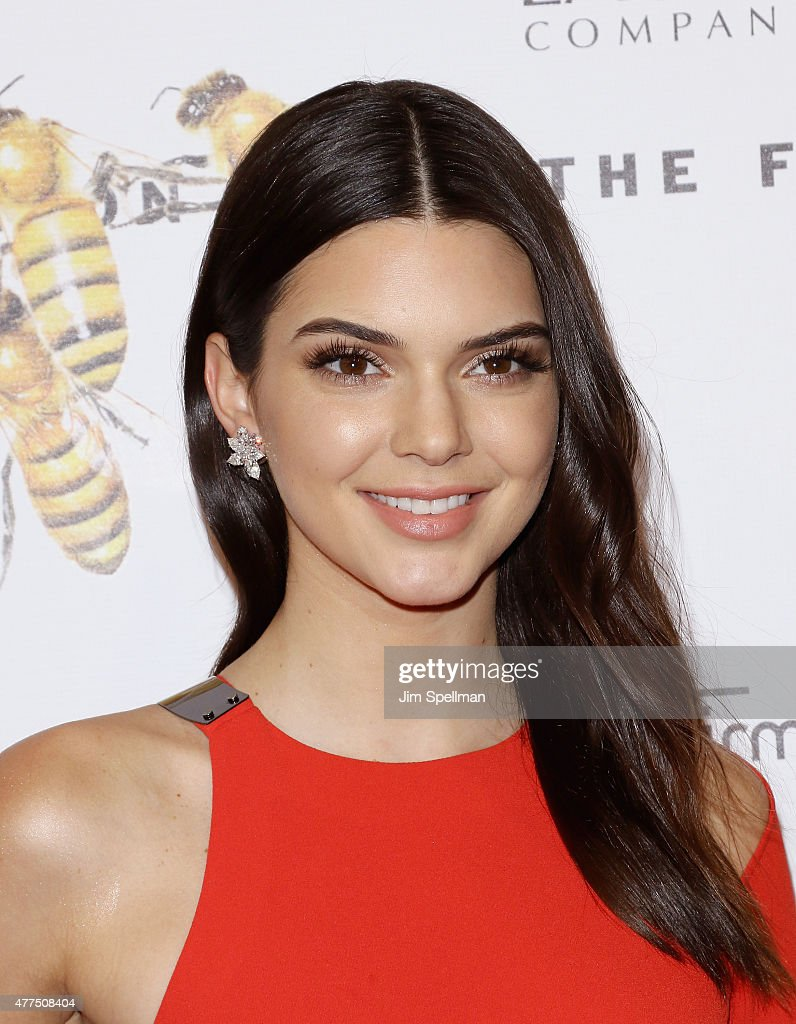 Model/tv personality Kendall Jenner attends the 2015 Fragrance Foundation Awards at Alice Tully Hall at Lincoln Center on June 17 2015 in New York...