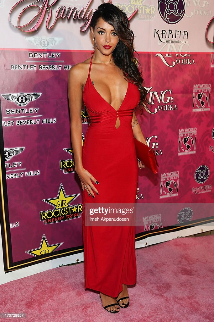 Model/TV personality <a gi-track='captionPersonalityLinkClicked' href=/galleries/search?phrase=Nabilla+Benattia&family=editorial&specificpeople=9537253 ng-click='$event.stopPropagation()'>Nabilla Benattia</a> attends the 8th Annual Kandyland - An Evening Of Decadent Dreams on August 17, 2013 in Beverly Hills, California.