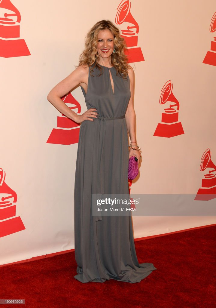 Model/tv personality Rebecca de Alba arrives at the 2013 Latin Recording Academy Person Of The Year honoring Miguel Bose at the Mandalay Bay Convention Center on November 20, 2013 in Las Vegas, Nevada.