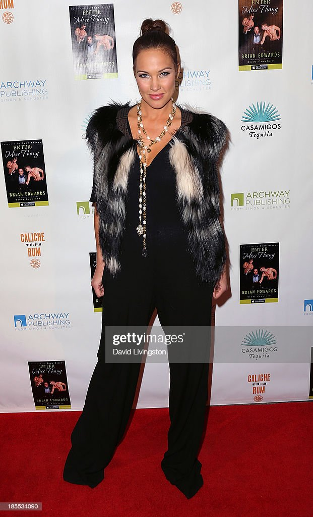 Model/TV personality <a gi-track='captionPersonalityLinkClicked' href=/galleries/search?phrase=Tiffany+Fallon&family=editorial&specificpeople=619534 ng-click='$event.stopPropagation()'>Tiffany Fallon</a> attends the launch party for Brian Edwards' book 'Enter Miss Thang' at Cafe Habana on October 21, 2013 in Malibu, California.