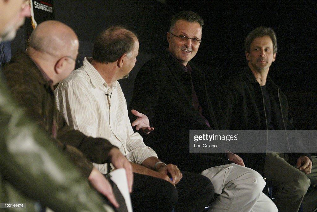 Moderator Alan Heim Jamie Selkirk Lee Smith and William Goldenberg