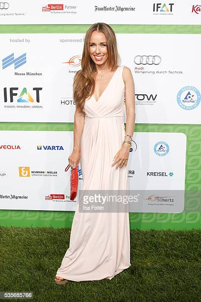 Moderator Annemarie Carpendale attends the Green Tec Award at ICM Munich on May 29 2016 in Munich Germany