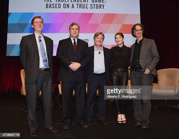 Moderator Brent Lang CoChairman of Sony Pictures Classics Tom Bernard AMC Theaters President of Programming Robert Lenihan actress Julianne Moore and...