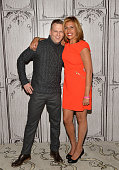 Moderator Brian Balthazar and Today Show host Hoda Kotb visit AOL BUILD Series to talk about Ms Kotb's book 'Where We Belong Journey's that Show Us...