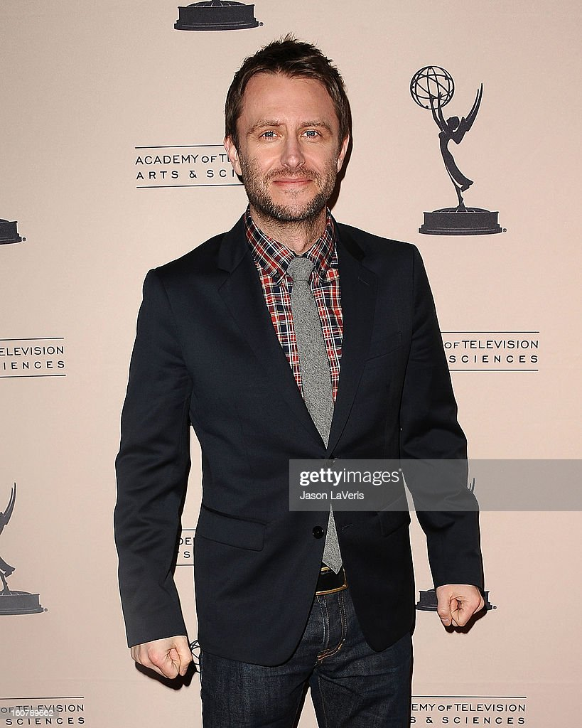 Moderator Chris Hardwick attends an evening with 'The Walking Dead' at Leonard H. Goldenson Theatre on February 5, 2013 in North Hollywood, California.