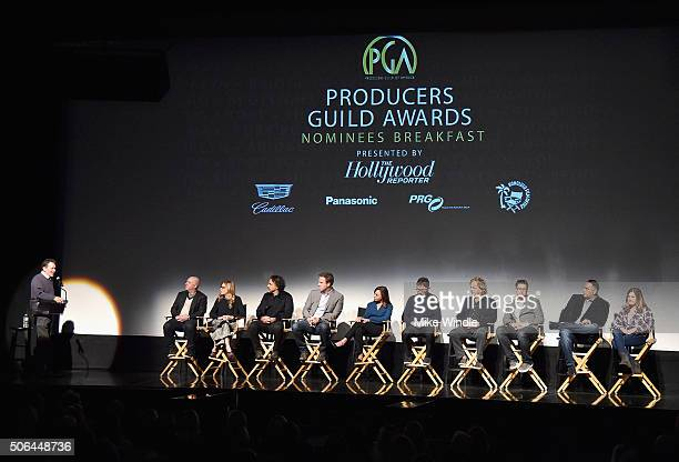 Moderator CoPresident Producers Guild of America Gary Lucchesi Producer of 'Straight Outta Compton' Scott Bernstein Producer of 'The Revenant'...