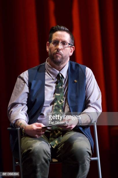 Moderator Damian Holbrook speaks onstage at the FYC Event for HISTORY's 'SIX' at Wolf Theatre on May 9 2017 in North Hollywood California