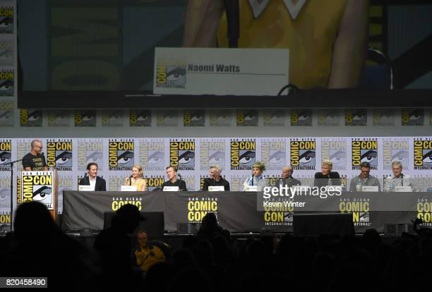 Moderator Damon Lindelof actors Kyle MacLachlan Naomi Watts Tim Roth Kyle MacLachlan Dana Ashbrook Kimmy Robertson James Marshall Everett McGill...