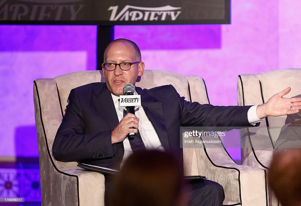 Moderator David Messinger, Co-Head CAA Marketing Creative Artists Agency speaks during the 'Chief Marketing Officer Roundtable' panel at Variety Presents