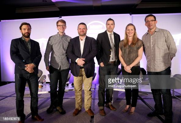 Moderator Director Artist Services Sundance Institute Chris Horton CoFounder Vlogbrothers Hank Green CEO Founder Plotagon Christopher Kingdon...