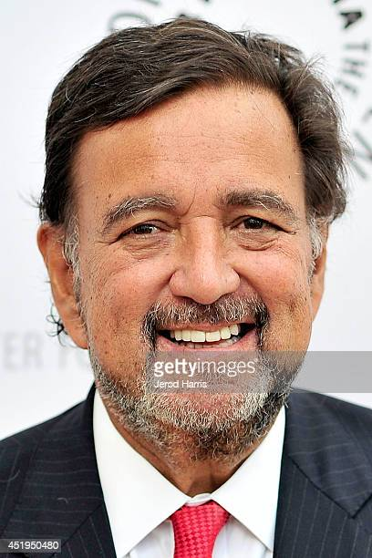 Moderator for the evening and former Governor of New Mexico Bill Richardson arrives at the Paley Center for Media Presents an evening with WGN...