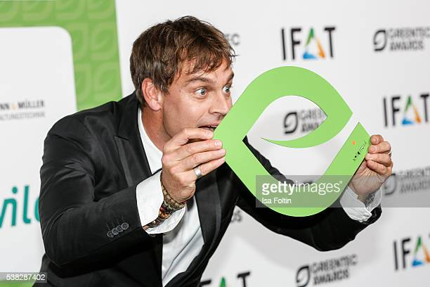 Moderator Harro Fuellgrabe attends the Green Tec Award at ICM Munich on May 29 2016 in Munich Germany