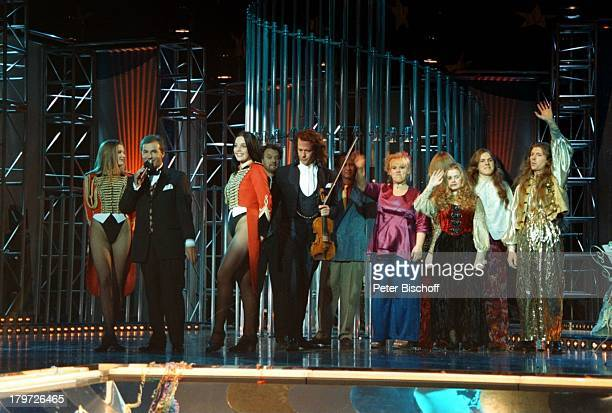 Moderator Jan Hofer Andre Rieu Bellini Maite Kelly Schwester Barbie Kelly mit Geschwistern als Musikgruppe 'KellyFamily'RoncalliGirls...