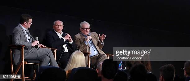 Moderator Jim Hemphill producer Irwin Winkler and director Martin Scorsese at the American Cinematheque conversation with Director Martin Scorsese...