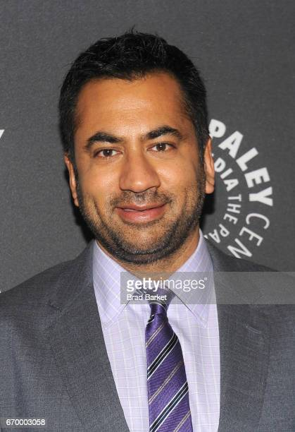 Moderator Kal Penn attends The Paley Center For Media presents 'Bill Nye Saves The World' screening and QA at The Paley Center for Media on April 18...