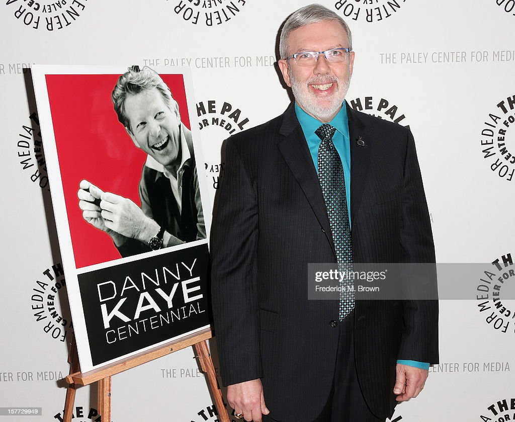 Moderator <a gi-track='captionPersonalityLinkClicked' href=/galleries/search?phrase=Leonard+Maltin&family=editorial&specificpeople=208242 ng-click='$event.stopPropagation()'>Leonard Maltin</a> attends The Paley Center For Media's Holiday Salute To Danny Kaye at The Paley Center for Media on December 5, 2012 in Beverly Hills, California.
