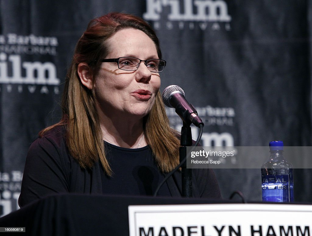 Moderator Madelyn Hammond attends the 28th Santa Barbara International Film Festival Women's Panel on February 2, 2013 in Santa Barbara, California.