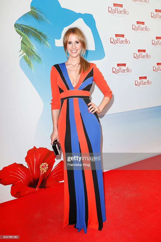 Moderator Mareile Hoeppner attends the Raffaello Summer Day 2016 to celebrate the 26th anniversary of Raffaello on June 24, 2016 in Berlin, Germany.