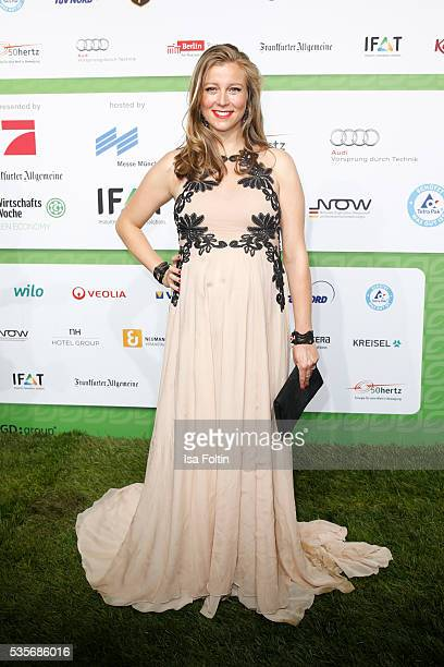 Moderator Nina Eichinger attends the Green Tec Award at ICM Munich on May 29 2016 in Munich Germany