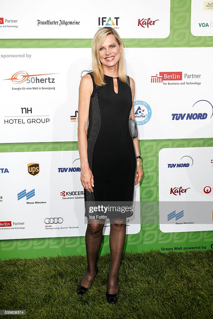 Moderator <a gi-track='captionPersonalityLinkClicked' href=/galleries/search?phrase=Nina+Ruge&family=editorial&specificpeople=216405 ng-click='$event.stopPropagation()'>Nina Ruge</a> attends the Green Tec Award at ICM Munich on May 29, 2016 in Munich, Germany.