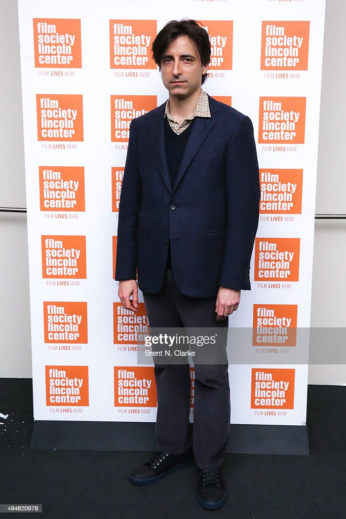 Moderator <a gi-track='captionPersonalityLinkClicked' href=/galleries/search?phrase=Noah+Baumbach&family=editorial&specificpeople=841432 ng-click='$event.stopPropagation()'>Noah Baumbach</a> attends the 'Hitchcock/Truffaut' New York screening held at The Film Society of Lincoln Center, Walter Reade Theatre on October 27, 2015 in New York City.