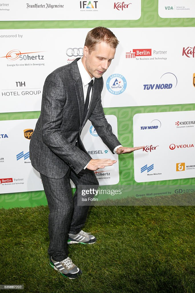Moderator Oliver Pocher attends the Green Tec Award at ICM Munich on May 29, 2016 in Munich, Germany.