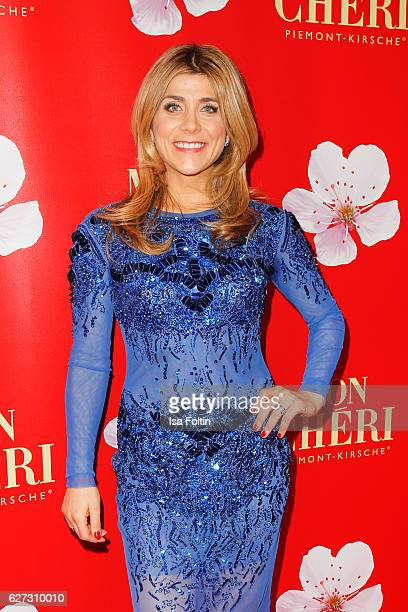 TV moderator Panagiota Petridou attends the Mon Cheri Barbara Tag at Postpalast on December 2 2016 in Munich Germany