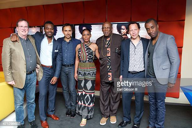 Moderator Pete Hammond Actor Lyric Bent Producer Damon D'Oliveira Actress Aunjanue Ellis Actor Louis Gossett Jr Author Lawrence Hill and Executive...
