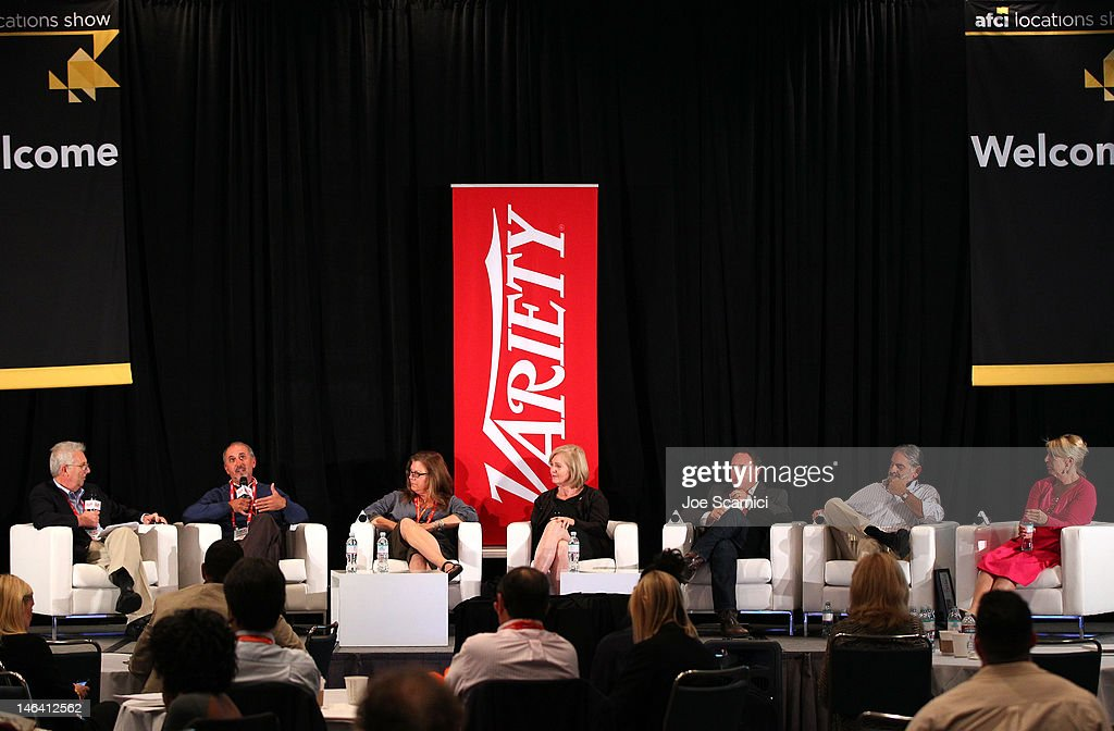 Moderator Peter Caranicas, Deputy Editor, Variety, Tony Salome, Location Manager,