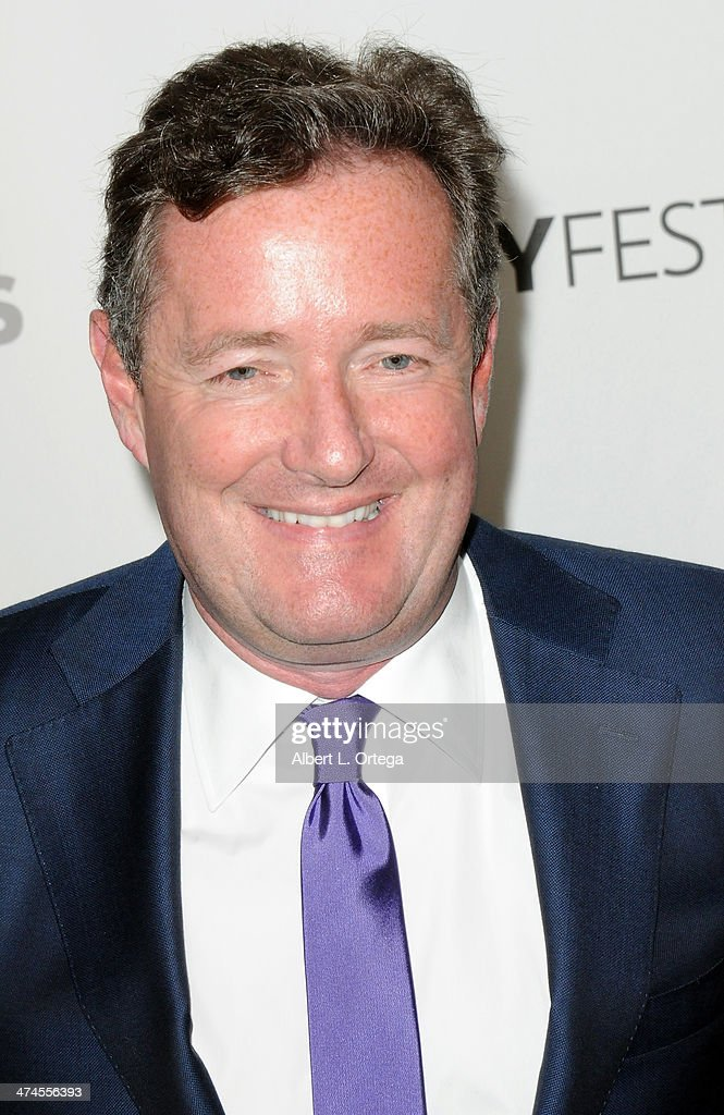 Moderator <a gi-track='captionPersonalityLinkClicked' href=/galleries/search?phrase=Piers+Morgan&family=editorial&specificpeople=216509 ng-click='$event.stopPropagation()'>Piers Morgan</a> participates in The Paley Center For Media's PaleyFest 2013 Honoring 'The Newsroom' held at The Saban Theater on March 3, 2013 in Beverly Hills, California.