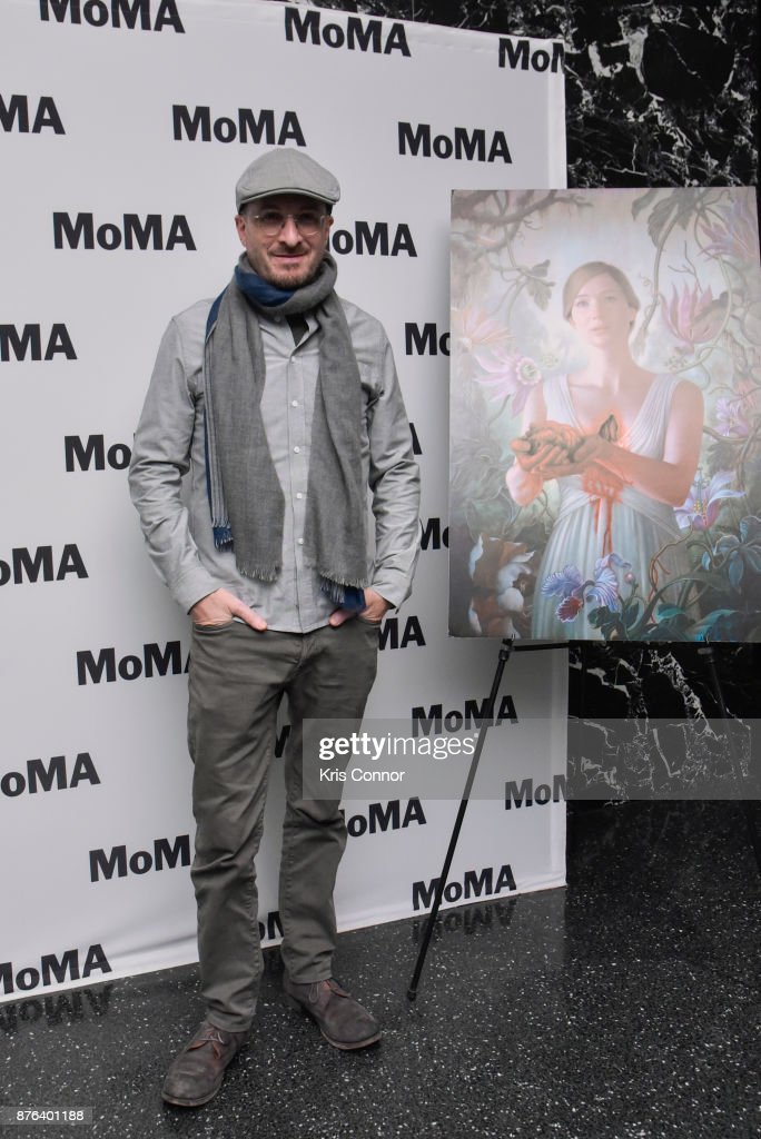 Moderator Rajendra Roy and director Darren Aronofsky attend the MoMA's Contenders Screening of 'mother!' screening at MOMA on November 19, 2017 in New York City.