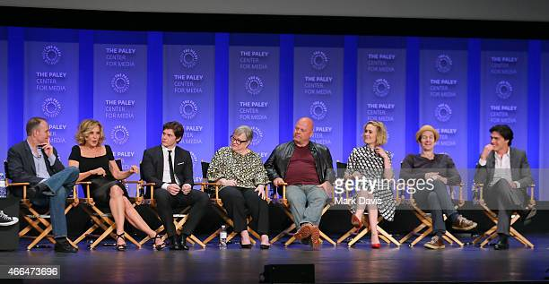 Moderator Tim Stack Executive Producer Tim Minear and actors Evan Peters Kathy Bates Michael Chiklis Sarah Paulson Denis O'Hare Finn Wittrock Matt...