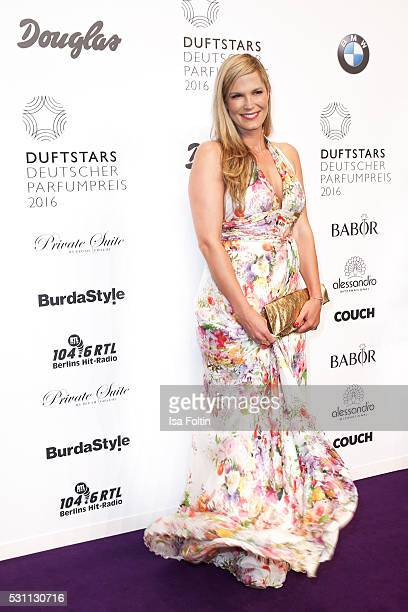 Moderator Verena Wriedt attends the Duftstars 2016 at Kraftwerk Mitte on May 12 2016 in Berlin Germany