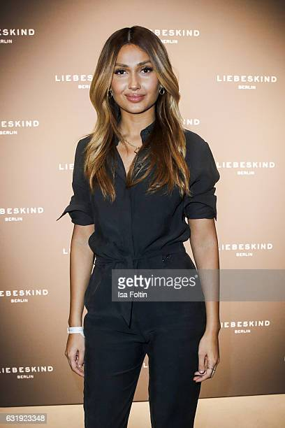 Moderator Wana Limar attends the Liebeskind Berlin housewarming party during the MercedesBenz Fashion Week Berlin A/W 2017 at on January 17 2017 in...