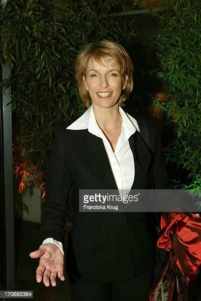 Moderatorin Susanne Holst Beim Reemtsma Medientreff In Hamburg Am 271003