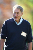 Moderator/TV personality Charlie Rose attends the Allen Co Media and Technology Conference on July 9 2014 in Sun Valley Idaho Many of the worlds...