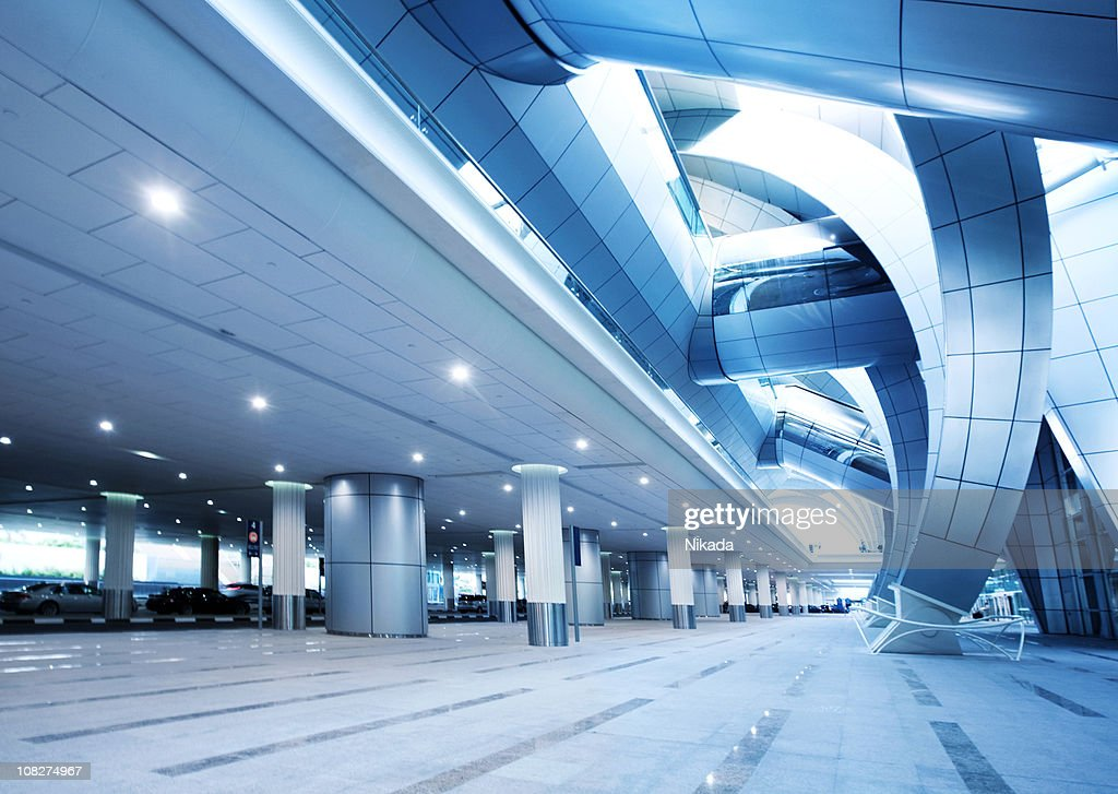 Modern Airport Architecture : Stock Photo