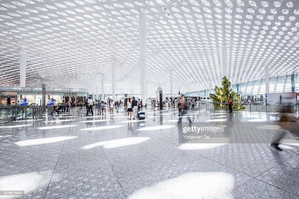 Modern Airport : Stock Photo