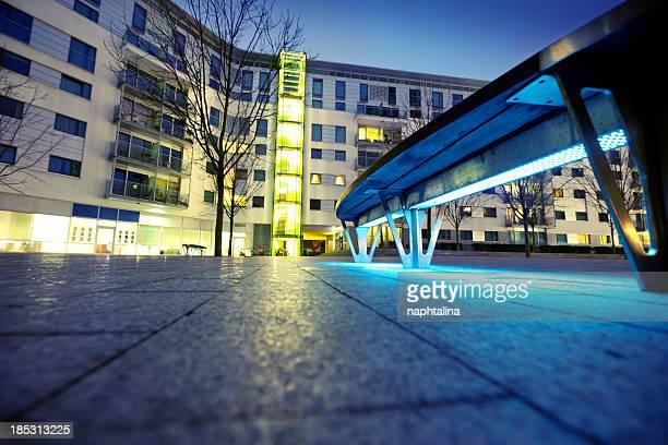 Complexe appartement moderne à Londres