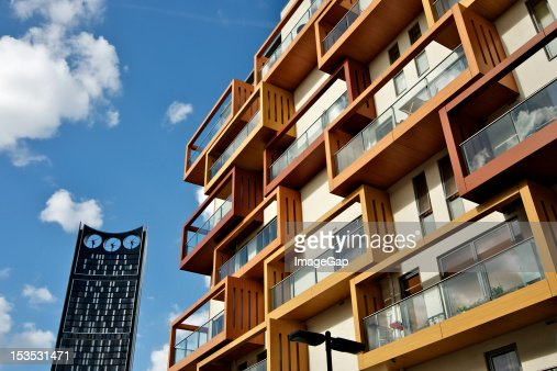 Keywords Modern Apartment Building Facade Stock Photo  Getty Images