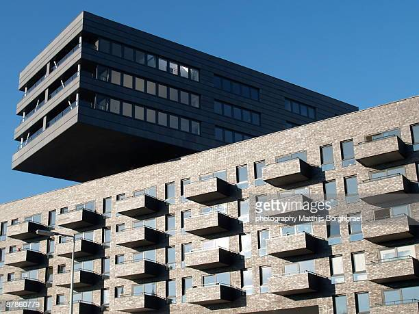 Modern architecture in Amsterdam