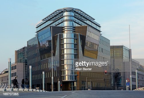 Modern Architecture Berlin modern architecture in central berlin stock photo | getty images